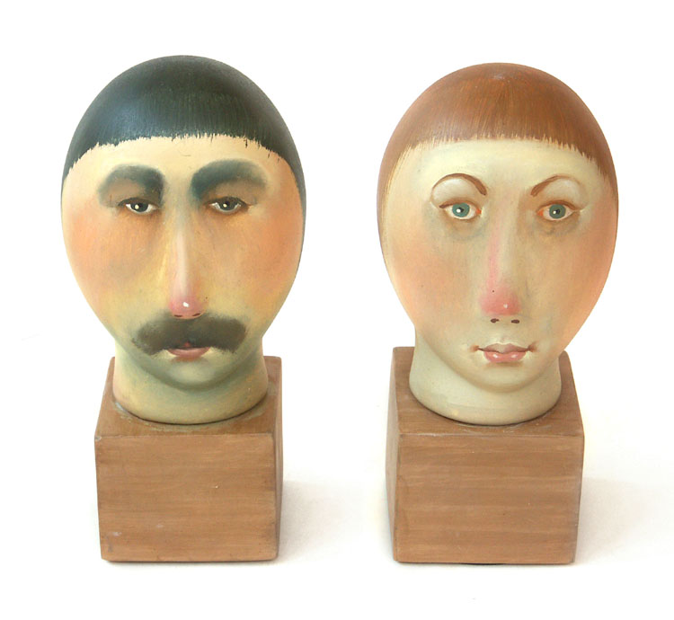 Busts, 2007, Painter - Ivanov Boris Mikhailovich