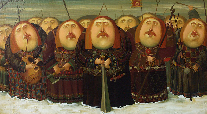 Clan, 2007, Painter - Ivanov Boris Mikhailovich