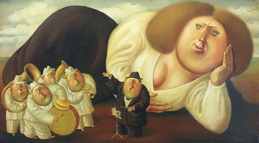 Concert, 2006, The artist - Boris Ivanov