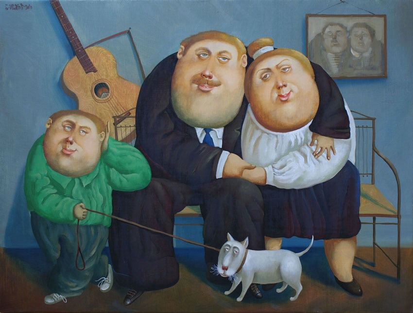 Family, 2010, Painter - Ivanov Boris Mikhailovich