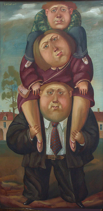 Family, 2007, The artist - Boris Ivanov