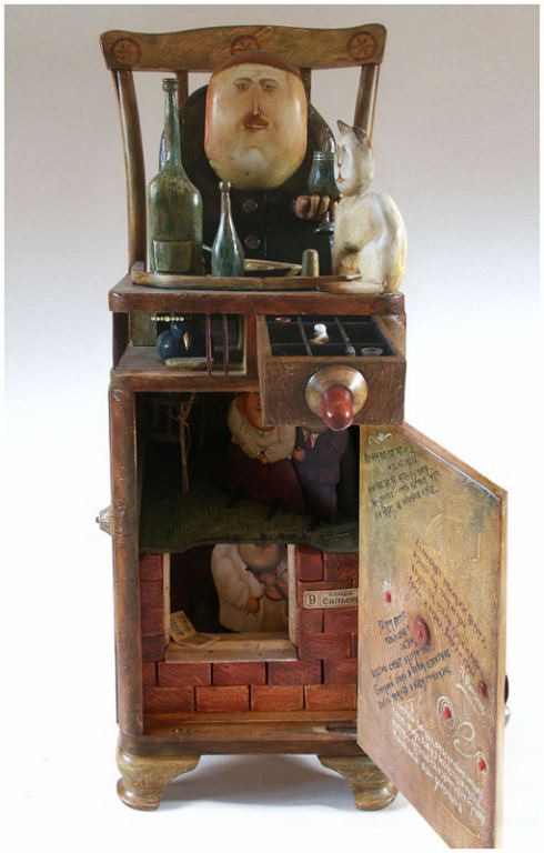 File cabinet «Drinking» , 2006, Painter - Ivanov Boris Mikhailovich
