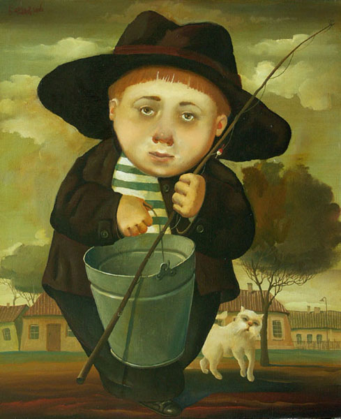 Fisherboy, 2006, Painter - Ivanov Boris Mikhailovich
