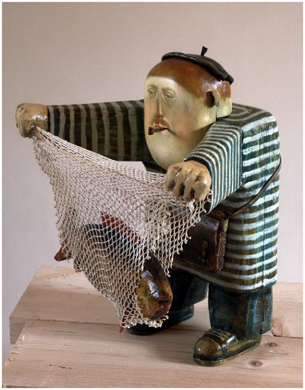 Fisherman, 2006, The artist - Boris Ivanov