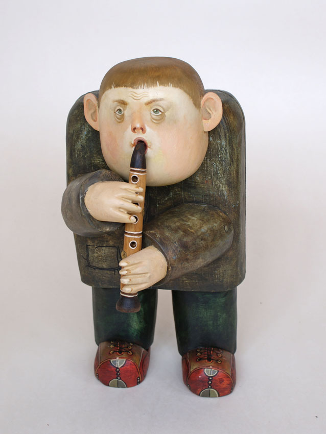 Flutist, 2010, The artist - Boris Ivanov
