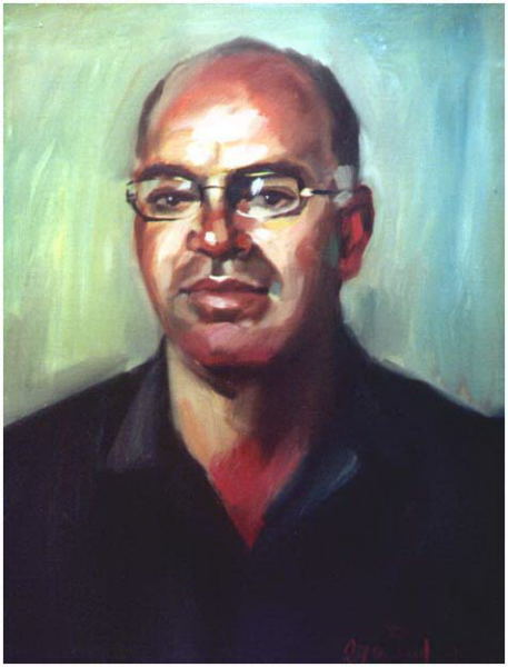 Halil from Nazareth, 2003, Painter - Ivanov Boris Mikhailovich