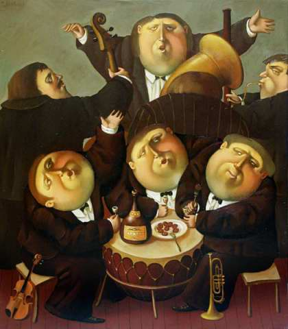 Orchestra, 2003, The artist - Boris Ivanov