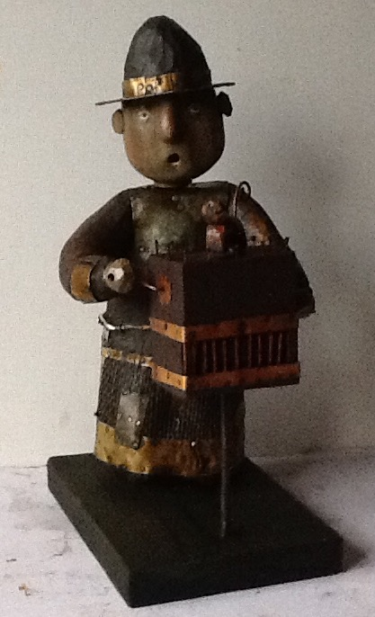 Organ grinder, 2015, The artist - Boris Ivanov