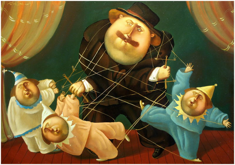 Puppets, 2005, The artist - Boris Ivanov