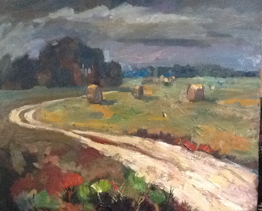 Road in the field, 2015, Painter - Ivanov Boris Mikhailovich