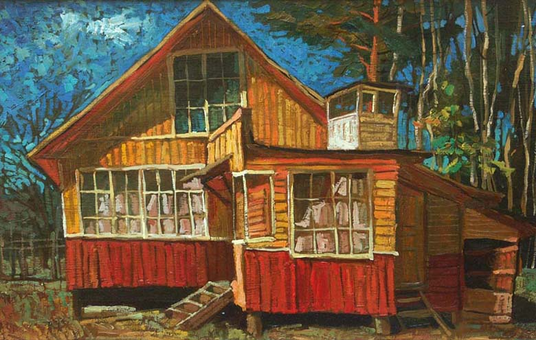 Summerhouse, 2007, Painter - Ivanov Boris Mikhailovich
