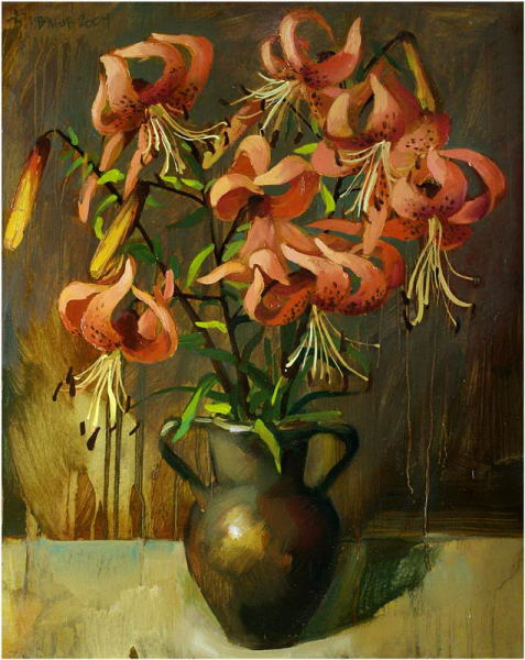Daylily, 2004, The artist - Boris Ivanov