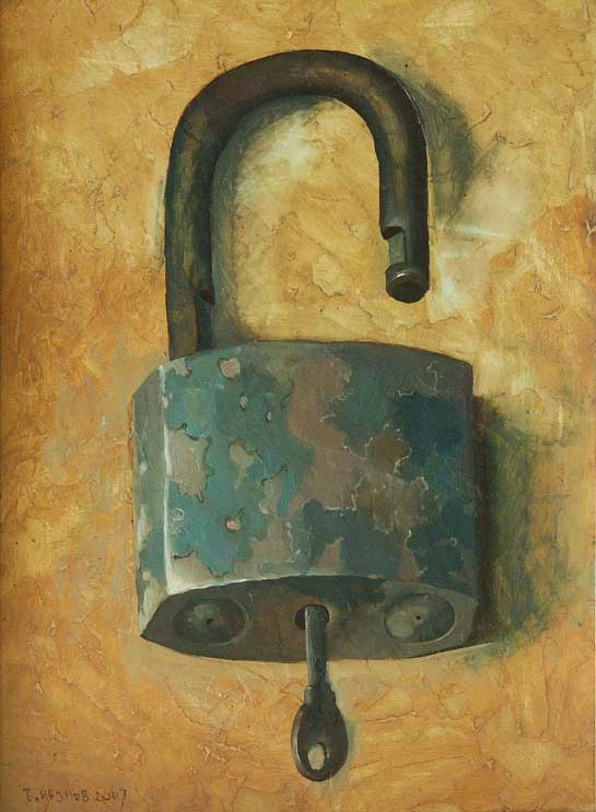 Padlock, 2007, The artist - Boris Ivanov