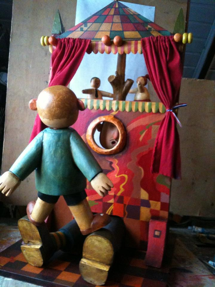 Puppet Theatre, 2013, The artist - Boris Ivanov