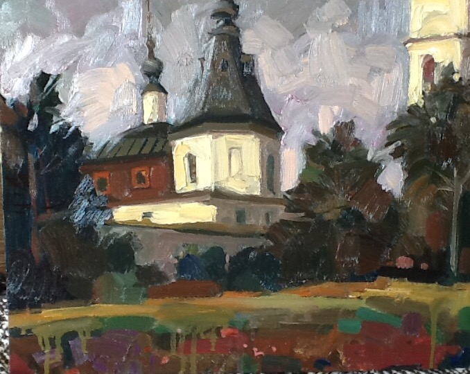 Monastery, 2016, The artist - Boris Ivanov