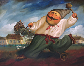 Cossack, 2012, Painter - Ivanov Boris Mikhailovich